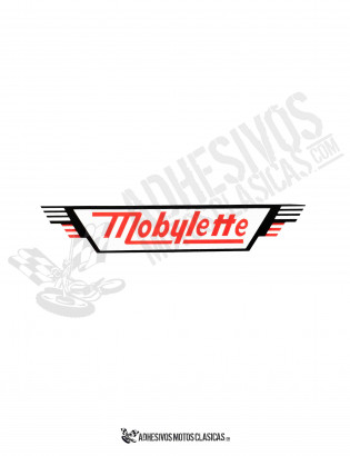 MOBYLETTE Side Sticker