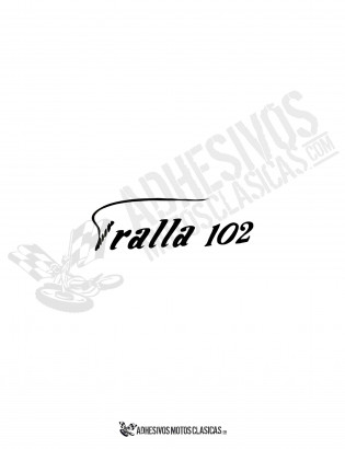BULTACO Tralla 102 Sticker