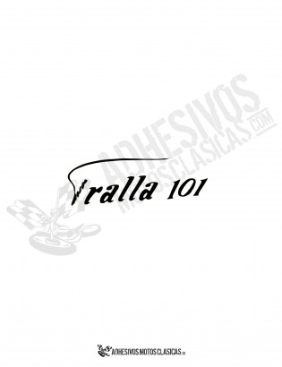 BULTACO Tralla 101 Sticker