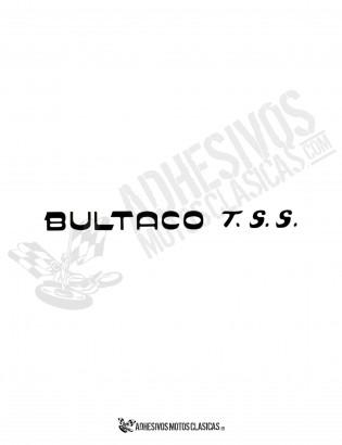 Adhesivo BULTACO TSS