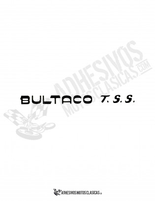 BULTACO TSS Sticker