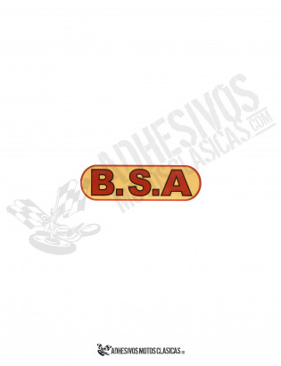 BSA Sticker
