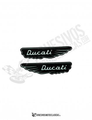 DUCATI Vintage Stickers