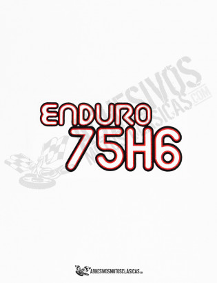 Adhesivos MONTESA Enduro 75 H6