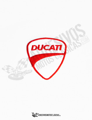 ducati white patch