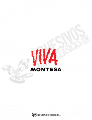 VIVA MONTESA Sticker