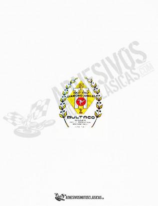 Adhesivo BULTACO diamond jubilee