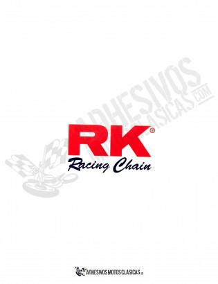 RK Racing Chain Sticker