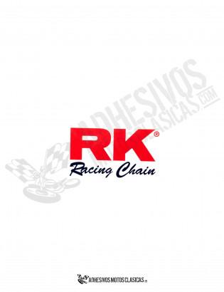 RK Racing Chain Sticker