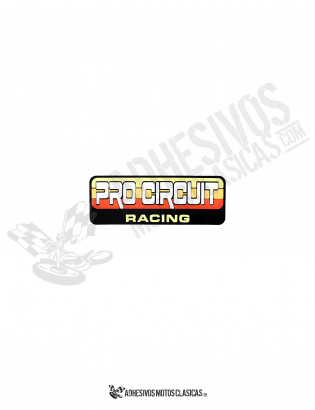 PRO CIRCUIT Racing Sticker