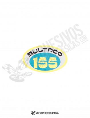 Adhesivo BULTACO 155 Ovalado