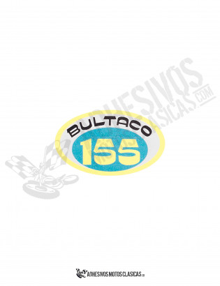 BULTACO 155 Oval Sticker