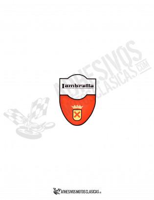 LAMBRETTA Shield Sticker