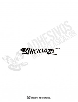 ANCILLOTTI Sticker
