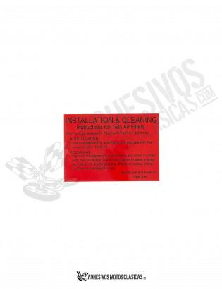 Adhesivo filtro MONTESA Cota 348