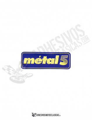 METAL 5 Stickers