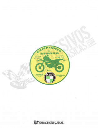 Spain's Champion PUCH Sticker