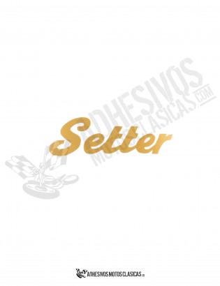 SETTER Sticker 2