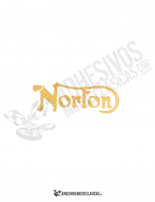 NORTON Sticker