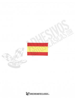 Adhesivo BANDERA España 4cm