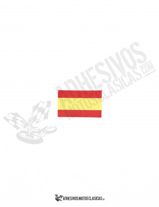 SPANISH Flag 4cm Sticker