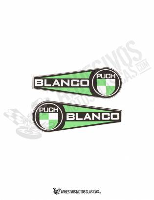 PUCH COBRA BLANCO STICKERS