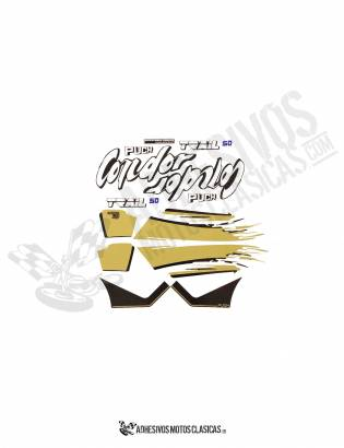 PUCH Condor Trail Stickers KIT