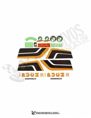 Borrasca III PUCH Stickers KIT
