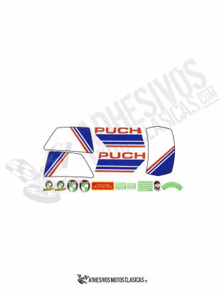 Condor MD PUCH Stickers