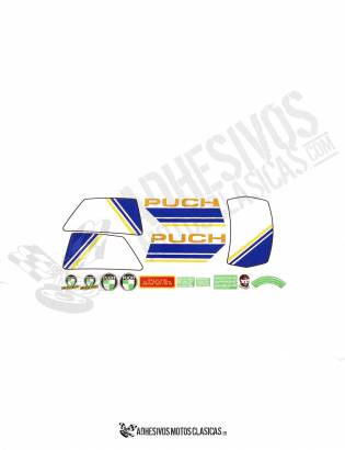 Condor MD-85 PUCH Stickers