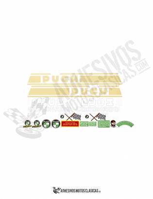 Coronado PUCH Stickers KIT