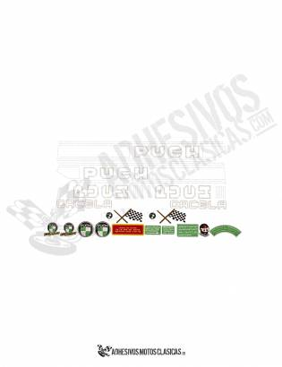 PUCH Gacela Stickers KIT