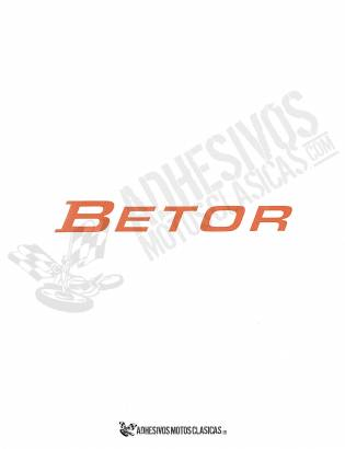 Betor 1 Sticker