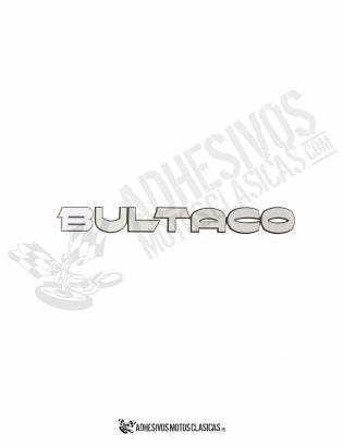 Adhesivos BULTACO Plata