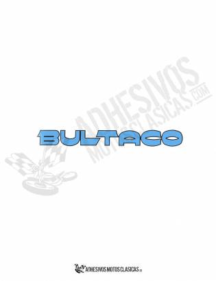 Adhesivos BULTACO Azules