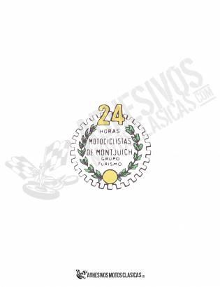 BULTACO 24H White Sticker