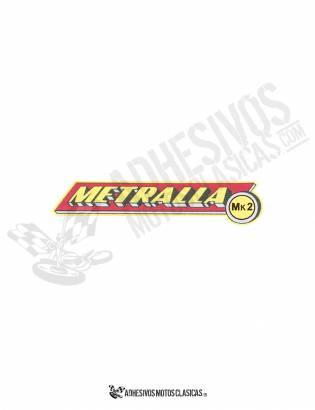 Adhesivo BULTACO Metralla MK2