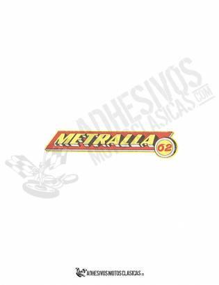 BULTACO Metralla 62 Stickers