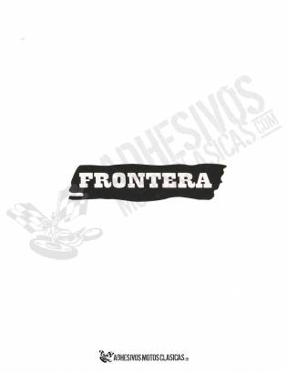 Adhesivo BULTACO Frontera