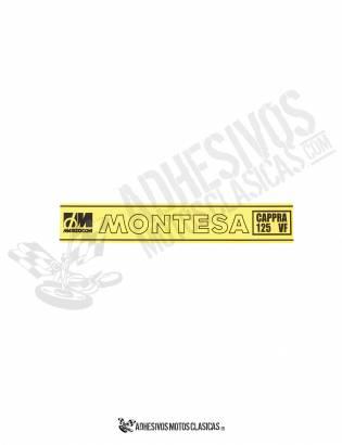 MONTESA Cappra 125 VF Forks Stickers