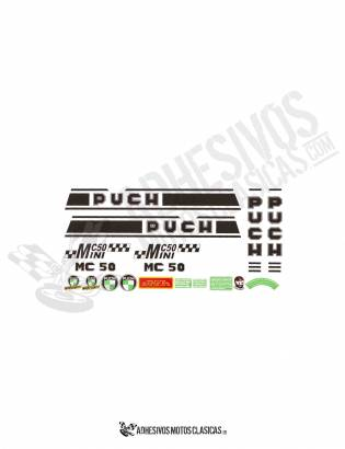 MC-50 Mini PUCH Stickers KIT