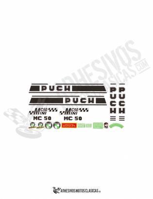 MC-50 Mini PUCH Stickers KIT