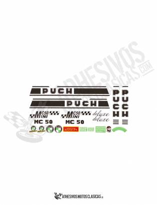 Juego de Adhesivos PUCH MC 50 Minicross DELUXE