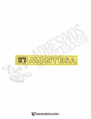MONTESA Cappra 250 VE Forks Stickers
