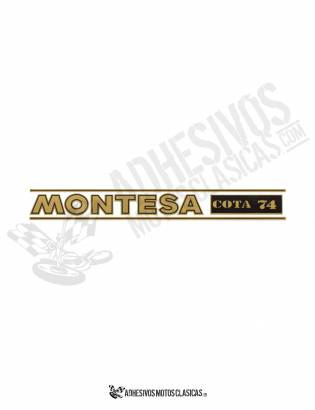 MONTESA Cota 74 Forks Stickers