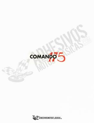 Adhesivo MONTESA Impala Comando 175 transparente