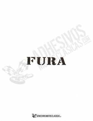 MONTESA Fura Sticker