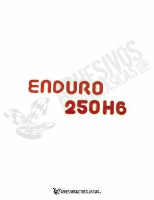 Adhesivo MONTESA Enduro 250 H6