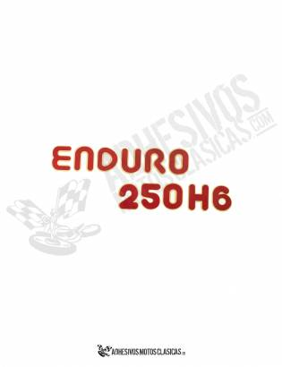 MONTESA Enduro 250 H6 Sticker