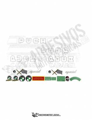 Carabela Special PUCH Stickers KIT